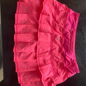 Pink Lululemon Skirt